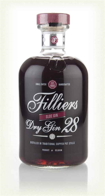 Filliers Dry Gin 28 Sloe Gin 50cl